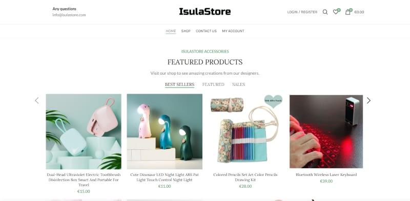 Isulastore.com è online!
